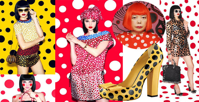 Yayoi Kusama and Louis Vuitton