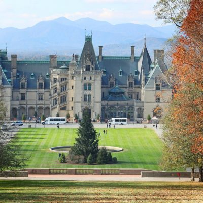 The Biltmore Estate:  Mansion in the Mountains