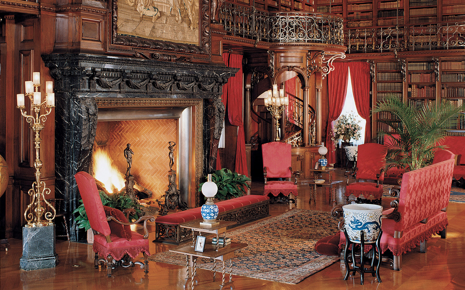 The Biltmore Estate Mansion