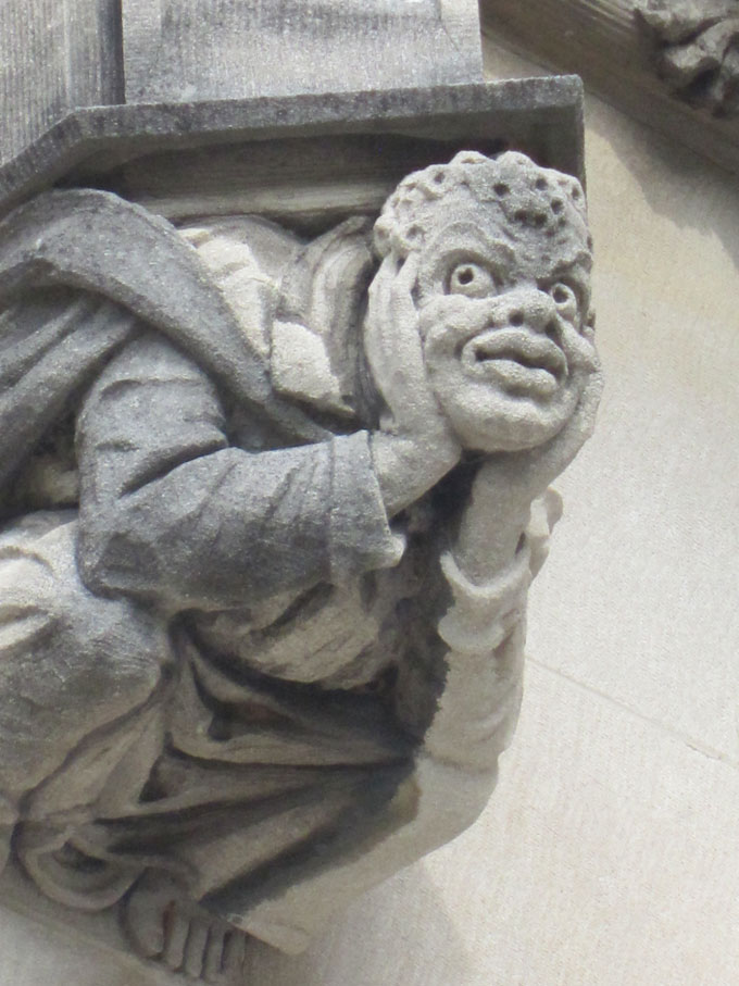 The Biltmore Estate Gargoyles