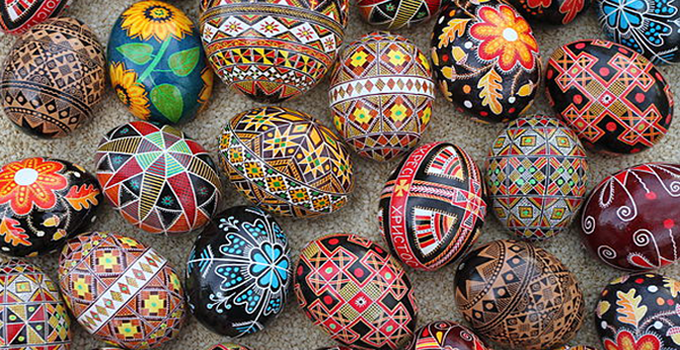 Ukranian Easter Egg photo