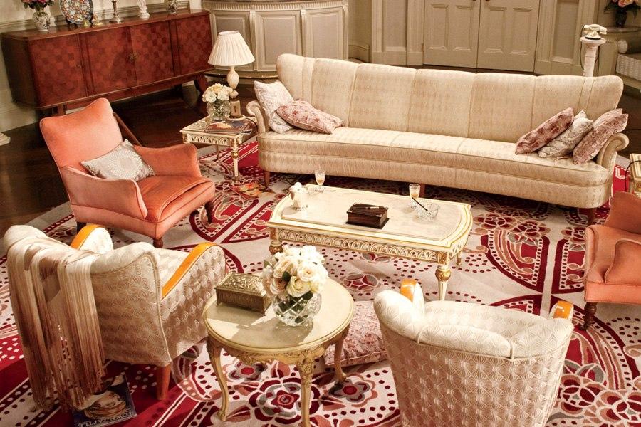 Great Gatsby Daisy's living room