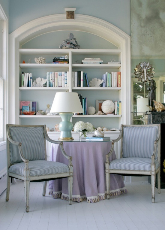 book-case-styling-with-coral-lamp-chairs-decor