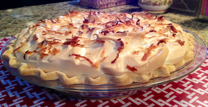 On the Menu Monday: Classic Coconut Meringue Pie Recipe