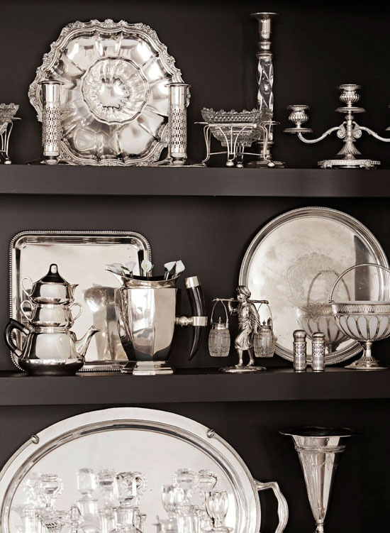 collectibles - silver via Pinterest