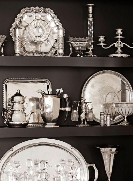 collectibles - silver via Pinterest
