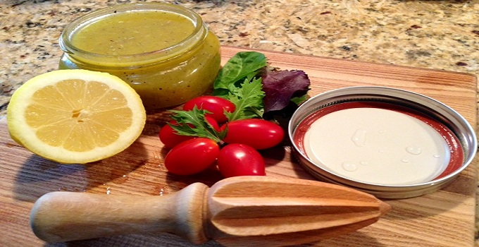 On the Menu Monday: Lemon Olive Oil Dressing Recipe