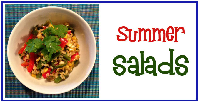 Cold Cilantro, Lime, Corn & Rice Salad
