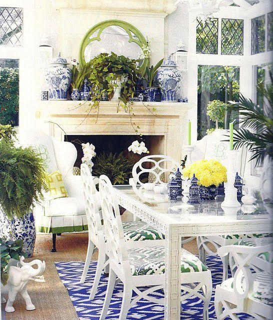 blue room - garden room