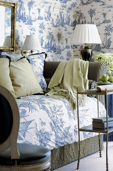 blue room - toile