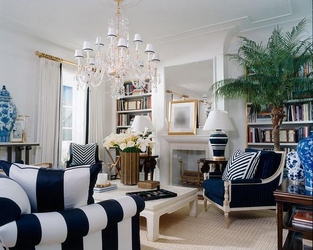 blue room via vt interiors