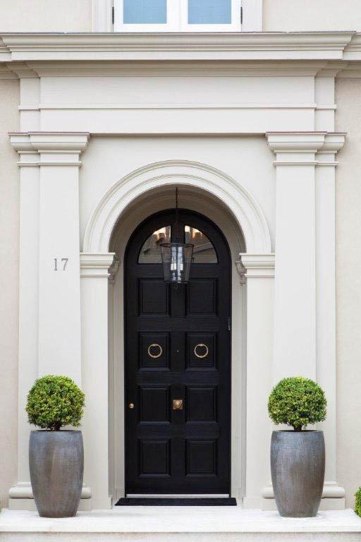 front door - black