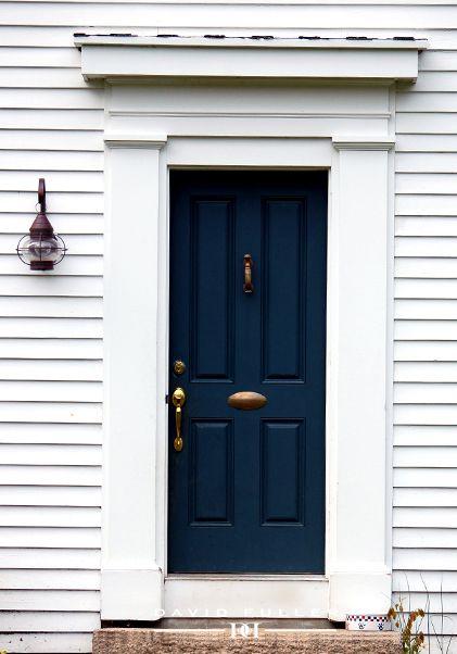 front door - navy