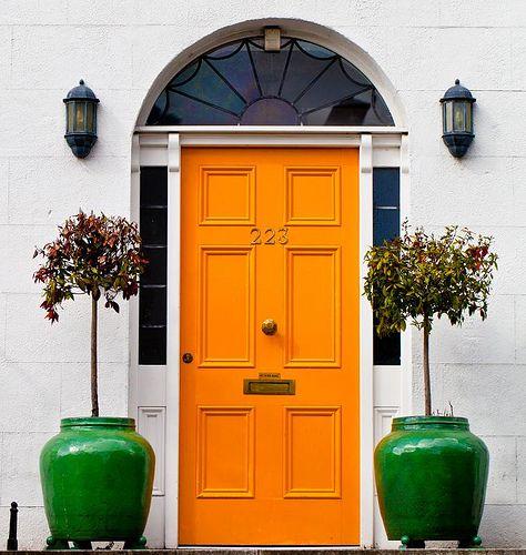 front door orange