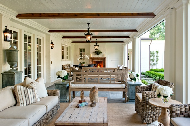 Welcome Wednesday :: The Outdoor Living Room