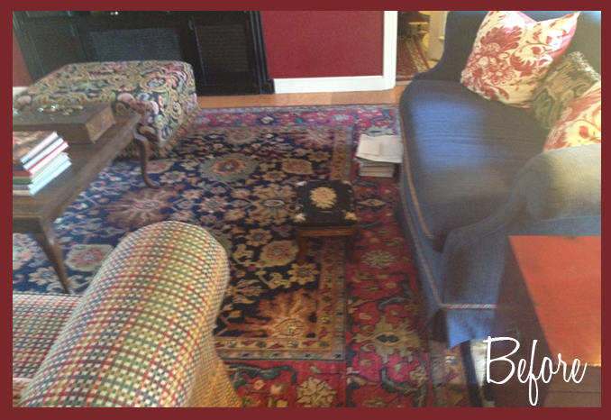 Before and After: Den Makeover