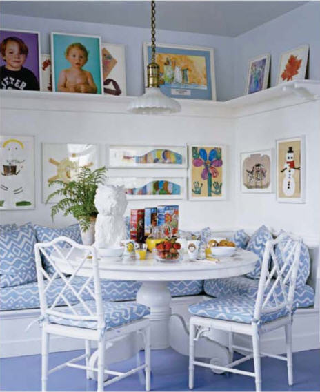 aerin lauder kitchen via elledecor