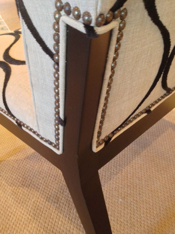 Classic Styling at high point market Century detailing HPMKT - owner on the board of the Bienenstock Furniture Library