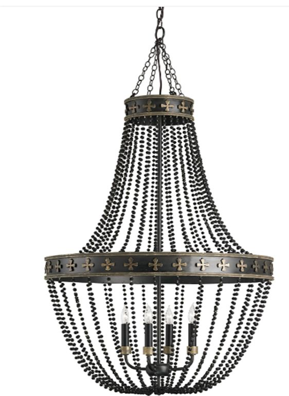 Coptic Chandelier by Shannon Koszyk for Currey and Co. HPMKT SS LM