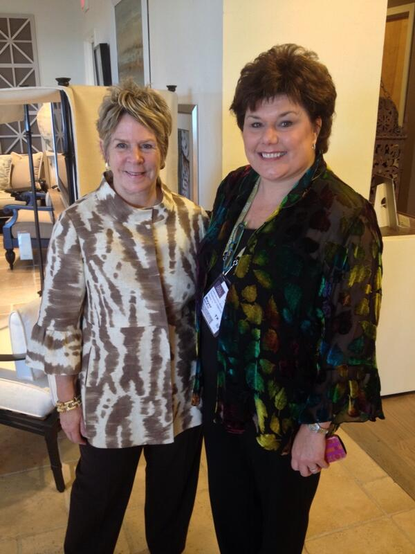 Classic Styling at high point market HIGHLIGHT LESLIE HENDRIX WOOD AND BUNNY WILLIAMS