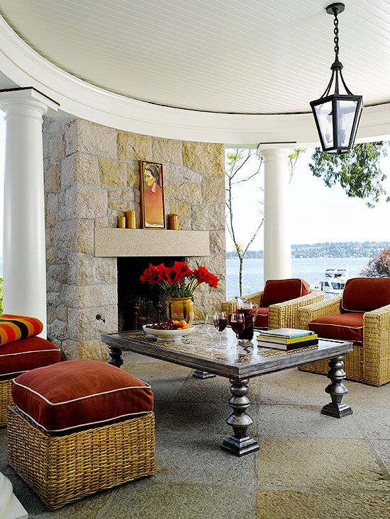 OUTDOOR FIREPLACE BHG