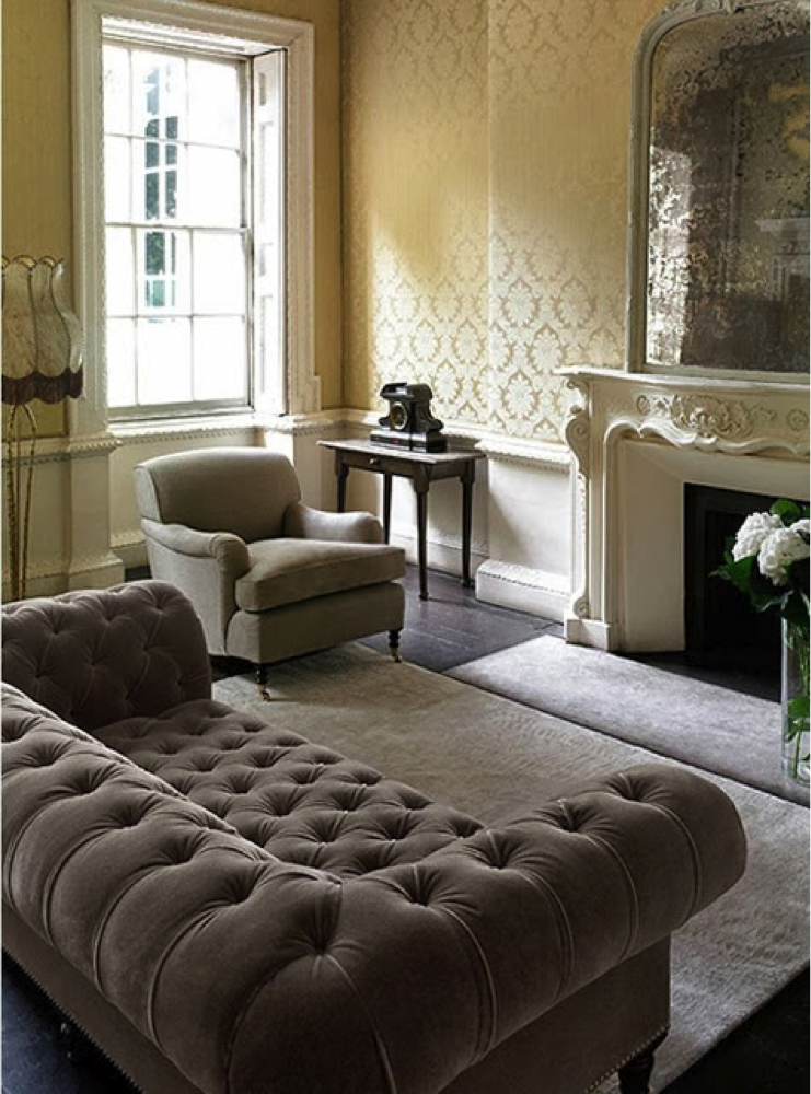 tufted furniture trend. chesterfield sofa tufted furniture trend
