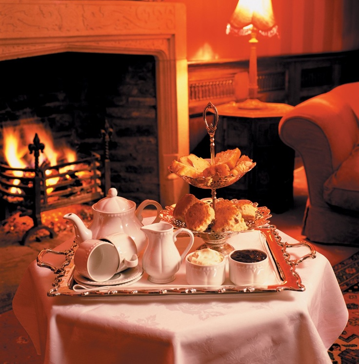fall - warm fireplaces