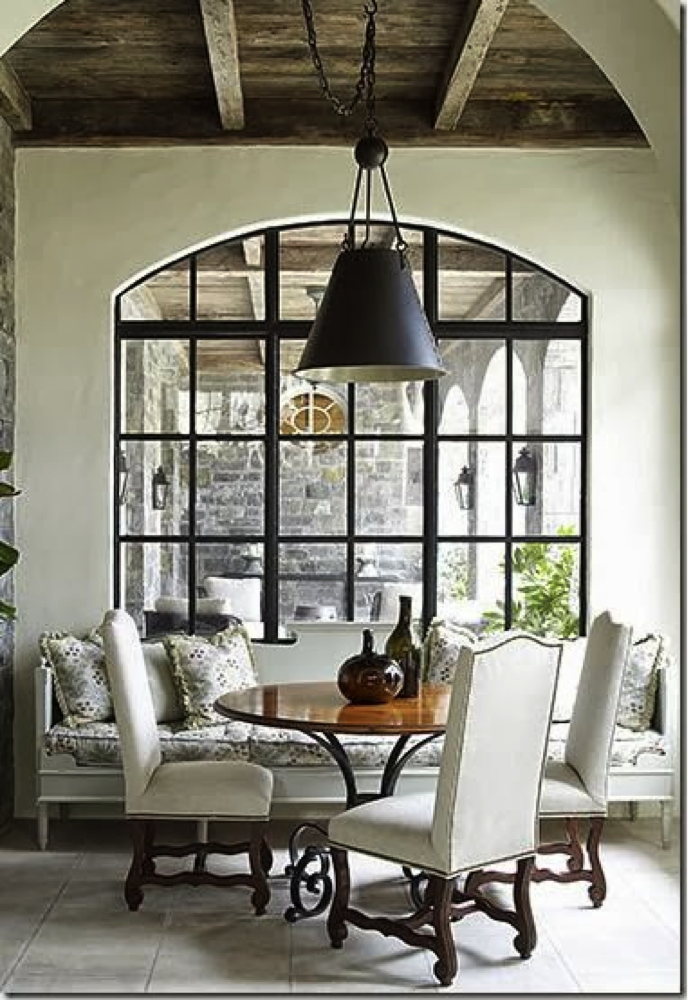 Black lamp shades a dramatic interior design trent black lamp shade in dining area aloadofball