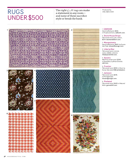 Affordable area rugs for the home