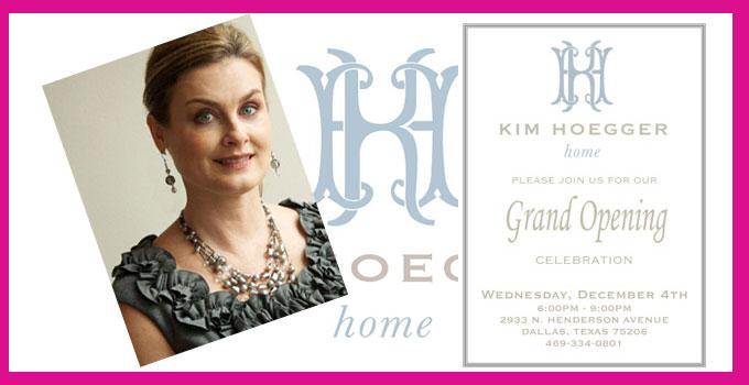 Kim Hoegger Home Grand Opening
