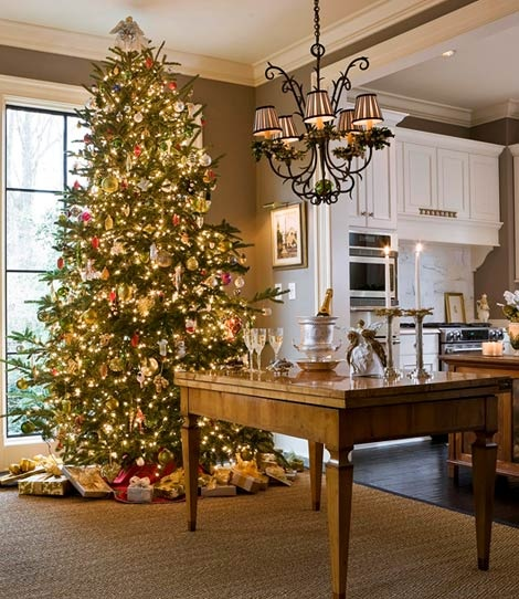 xmas tree trad home