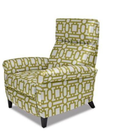 AVA recliner: Wooden Leg