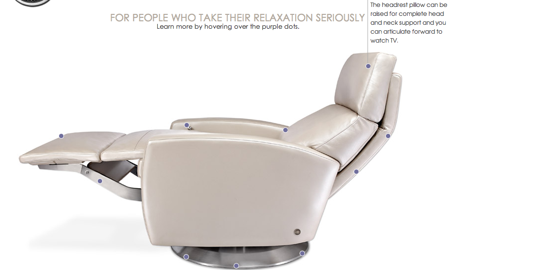 AVA recliner: Modern Version