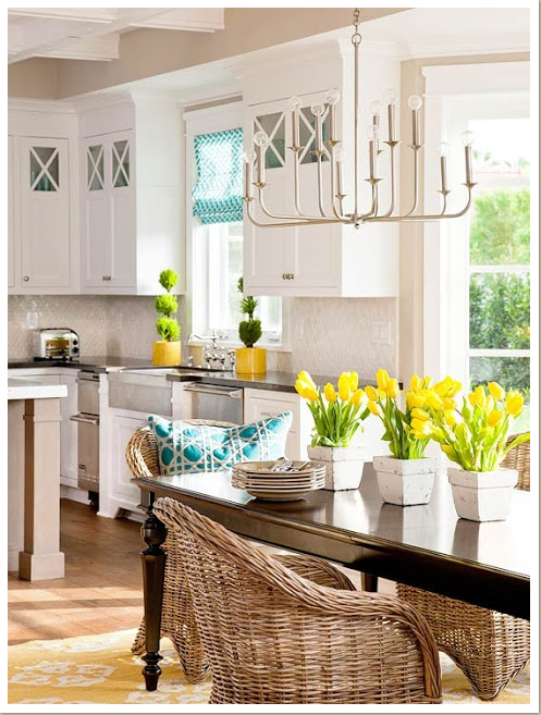 Kitchen design source: BHG