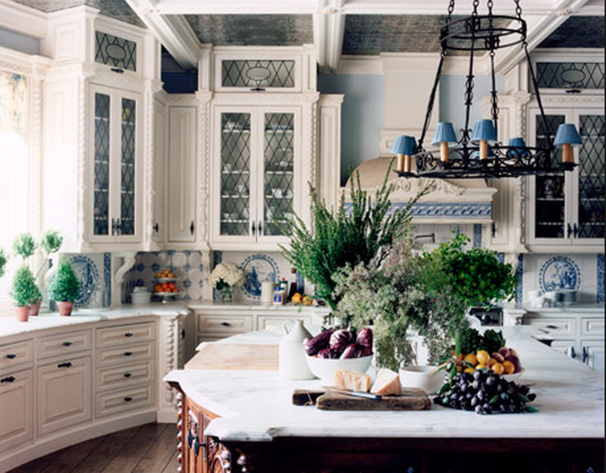 Kitchen designed by Lisa Cohen - New Jersey