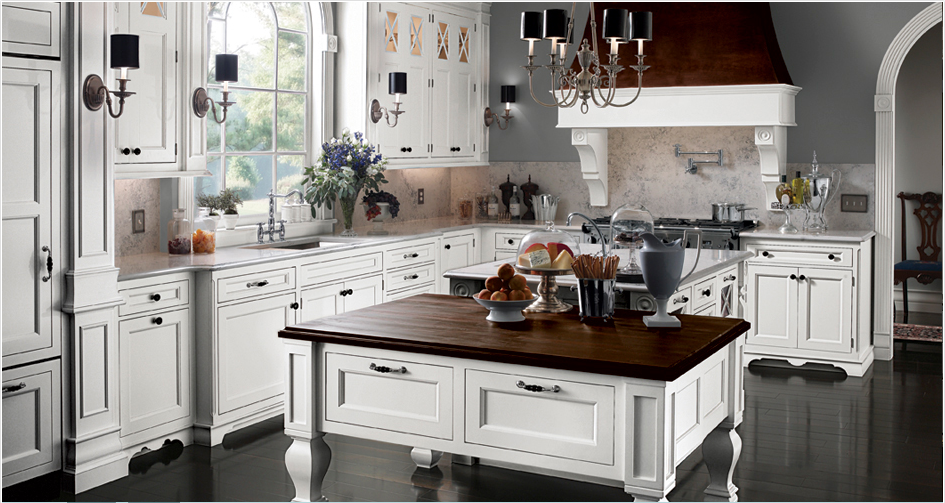 Kitchen Design Source: Wood Mode Cabinetry