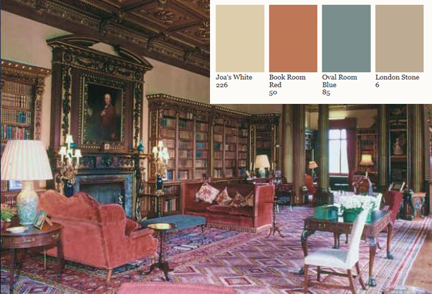 Paint Your Home The Colors Of Downton Abbey 39 S Highclere Castle With Farrow And Ball Kelly
