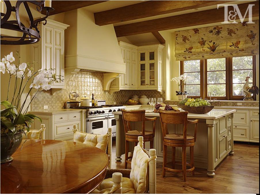 The romance of design kitchen