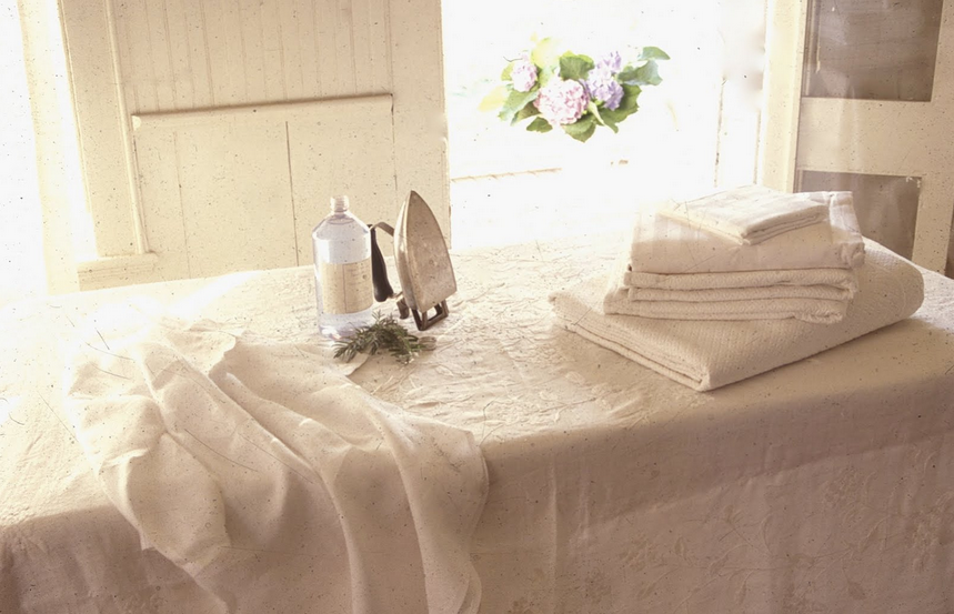 how to iron fresh linen from http://hadleycourt.com