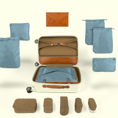 Come Rane or Shine: Organizing For Gracious Travel – Introducing Ebby Rane Luggage
