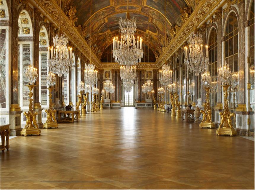 Parquet De Versailles Wood Floor Pattern