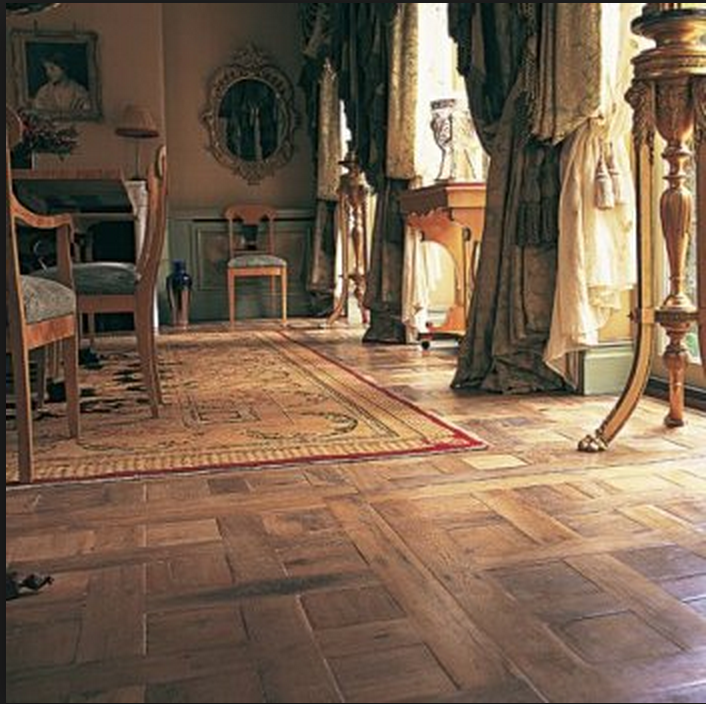 parquet de Chantilly pattern