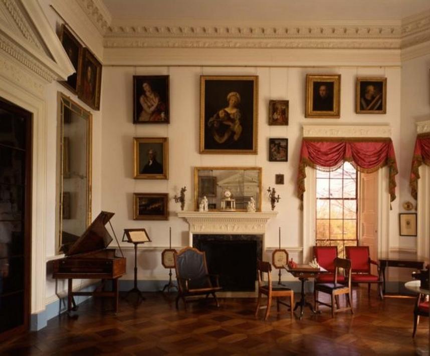 Thomas Jefferson's parquet floors in his home
