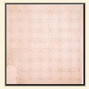 parquet floor pattern original by Thomas Jefferson