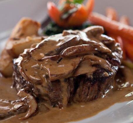 Valentine's Day Recipes Steak Diane