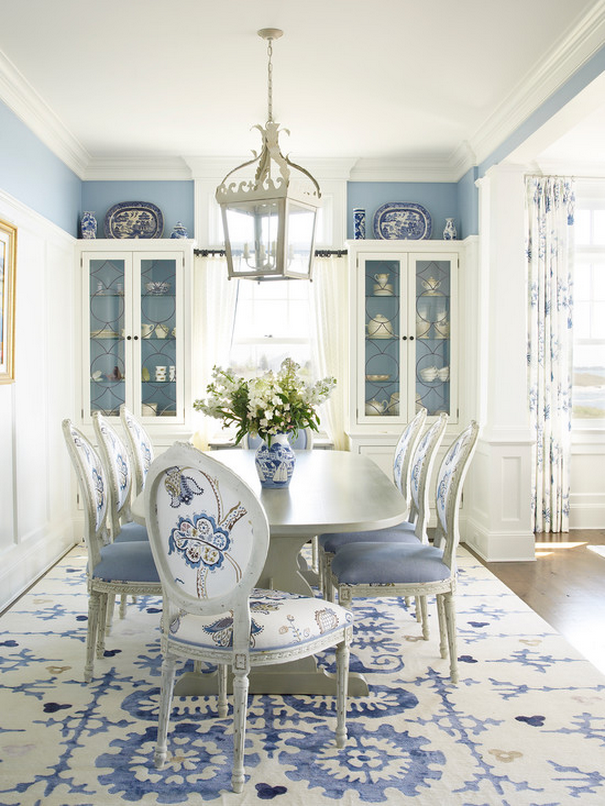 Photo of a dining room designed by Eliza Gatfield