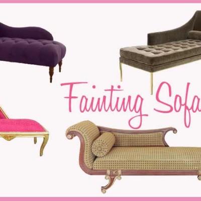 Mad Men + The Modern Fainting Sofa