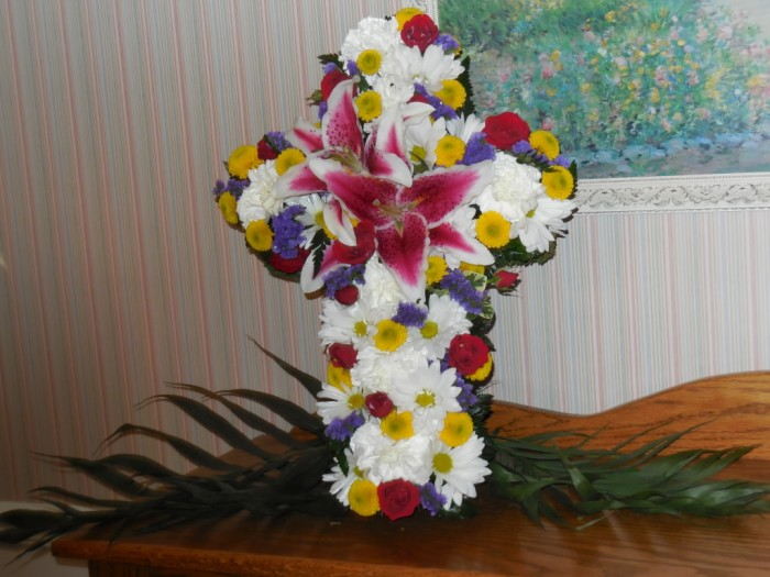 How to make a Flowering Cross: Final Product