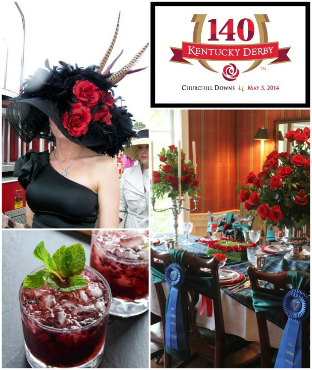 KENTUCKY DERBY Collage - Run For The Roses ideas