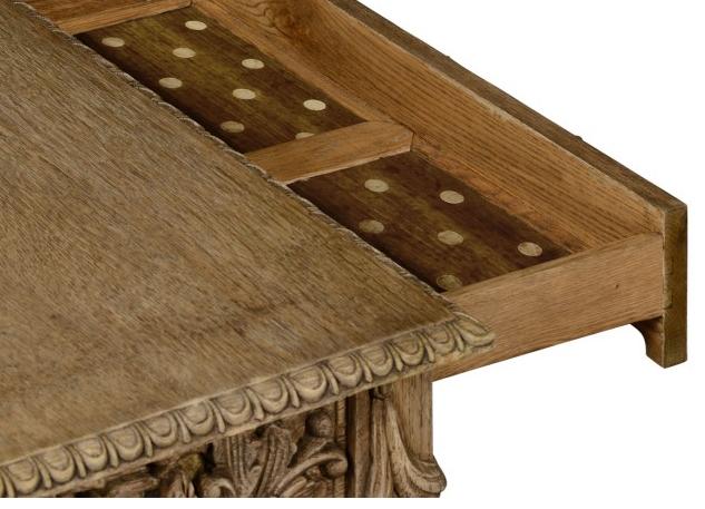 William Yeoward furniture - Tenbury Games Table Up Close